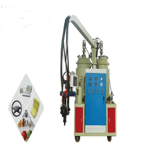 Low pressure flexible polyurethane cell foam injection machine